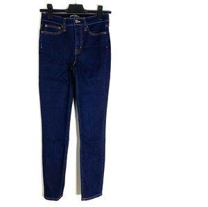 J. Crew Mercantile High Rise Skinny Jeans
